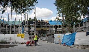 Budowa nowego budynku miała zakończyć się 20 lipca