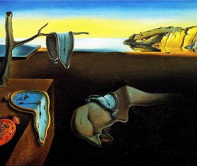 Salvador Dali często poruszał temat czasu w swoich obrazach