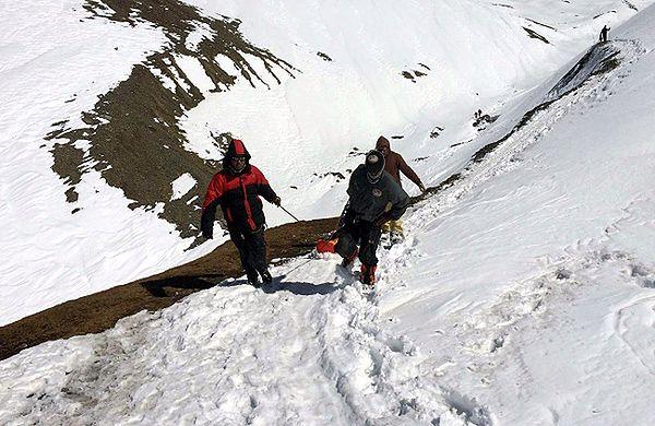 Akcja poszukiwawcza w Himalajach