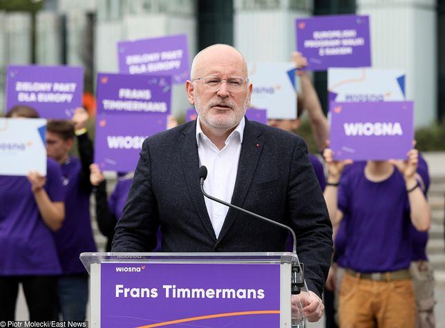 Frans Timmermans ofiarą księdza pedofila.