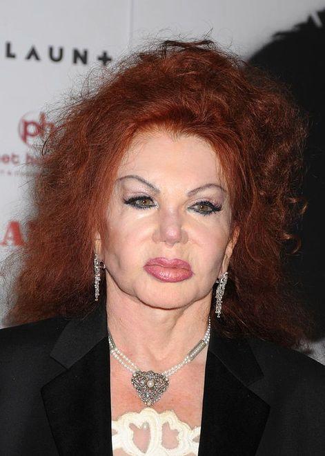 Twarz Jackie Stallone się rozpadnie?