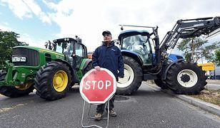 Rolnicy przeszli pod Kancelarię Premiera