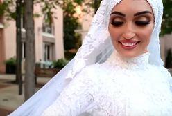 Liban. Wybuch w Bejrucie zniszczył jej ślubną sesję zdjęciową. Panna młoda mówi, co wtedy czuła