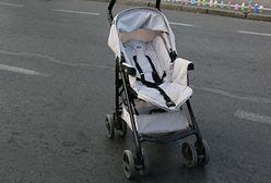 Pijany ojciec przewrócił wózek z 2-letnim synkiem. Policja z Oświęcimia ujawnia szczegóły
