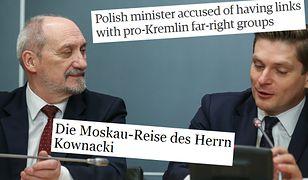 """Macierewicz """"zagraża bezpieczeństwu"""" Polski. Brytyjscy dziennikarze mają dowód na powiązania z Rosją"""