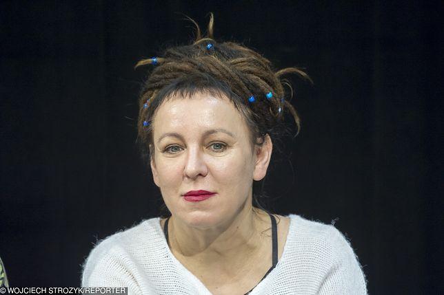 Olga Tokarczuk chciałaby zmienić narodowość... na WOŚP