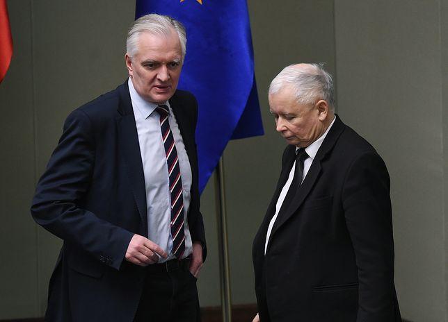 Nocne narady na Nowogrodzkiej. Jarosław Gowin mówi prezesowi PiS: odstraszyliśmy przedsiębiorców