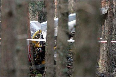 Katastrofa Iskry - pilot nie żyje