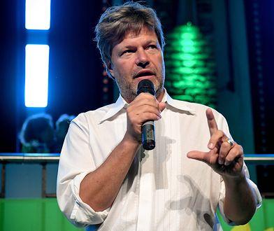 """Lider Zielonych Robert Habeck ma szanse zostać pierwszym """"zielonym"""" kanclerzem Niemiec"""