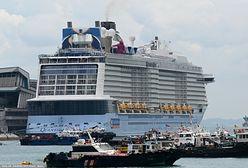 Singapur. Zmusił załogę statku do powrotu. Powodem koronawirus