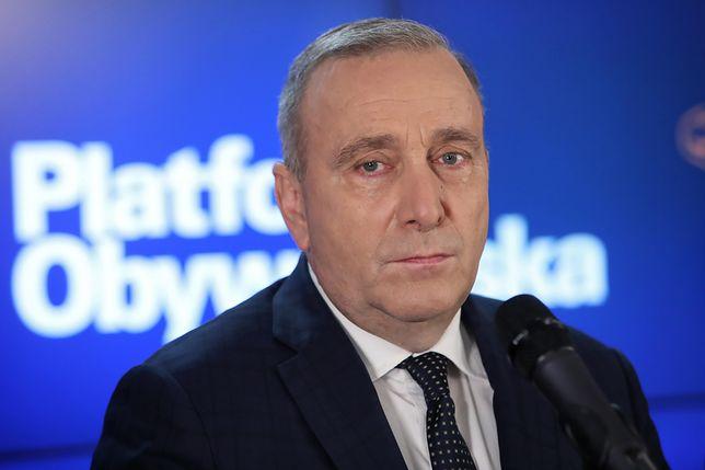 Zmiany w PO. Nieoficjalnie: Grzegorz Schetyna nie będzie ubiegał się o stanowisko szefa