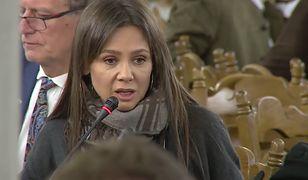 """Kinga Rusin nazwała posiedzenie komisji """"wielką farsą i hipokryzją"""""""