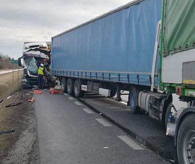 Tragiczny wypadek na drodze krajowej nr 50 w Mszczonowie