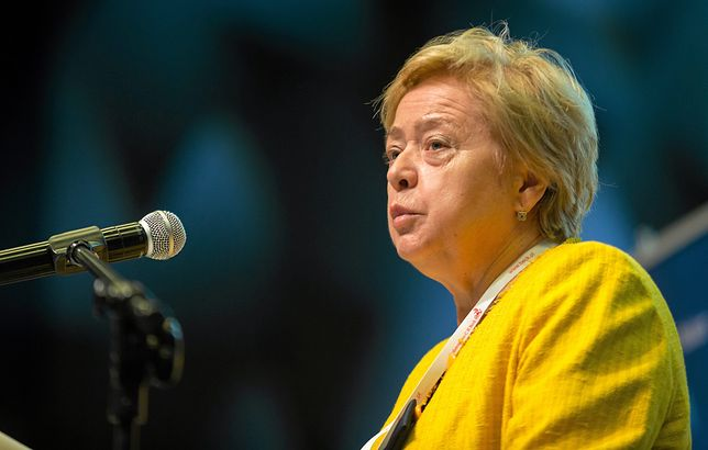 I prezes Sądu Najwyższego prof. Małgorzata Gersdorf jest krytykowana za pojawienie się na zaprzysiężeniu nowego sędziego-dublera.