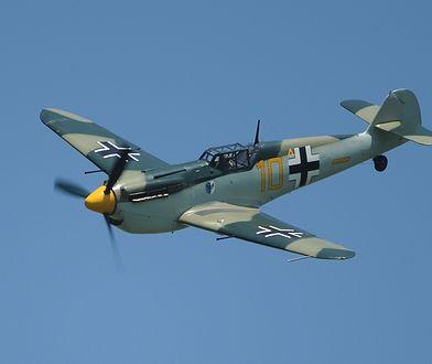 Stegna skrywała wrak samolotu Messerschmitt Me 109.
