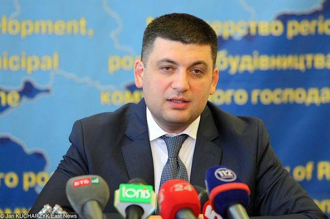 Ukraina. Premier Wołodymr Hrojsman poinformował o dymisji swojego rządu