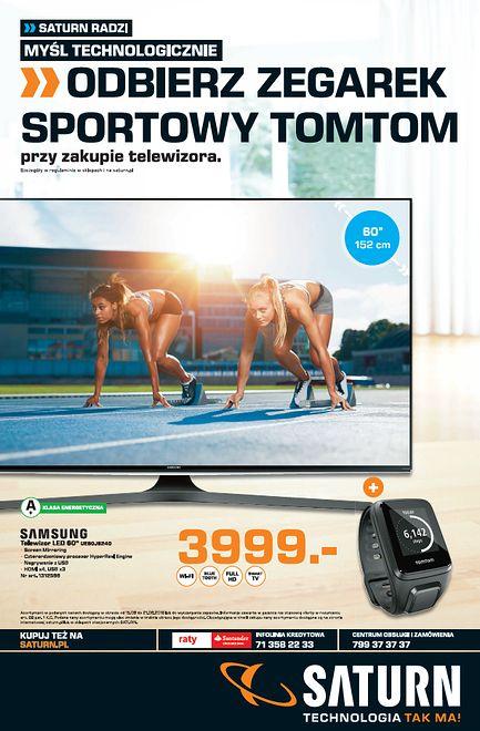 Odbierz zegarek sportowy Tomtom przy zakupie telewizora.