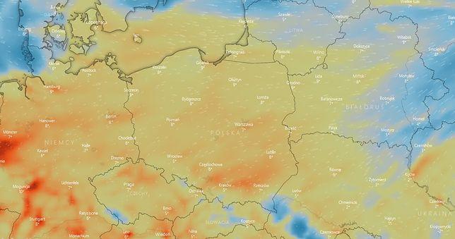 IMGW ostrzega, że warunki pogodowe mogą się pogorszyć