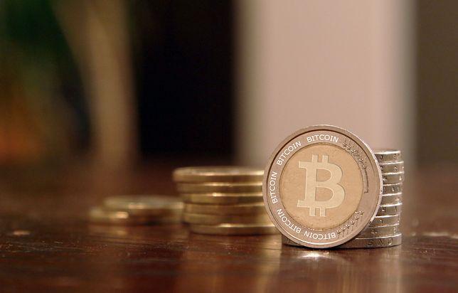 Ogromny spadek wartości bitcoin.