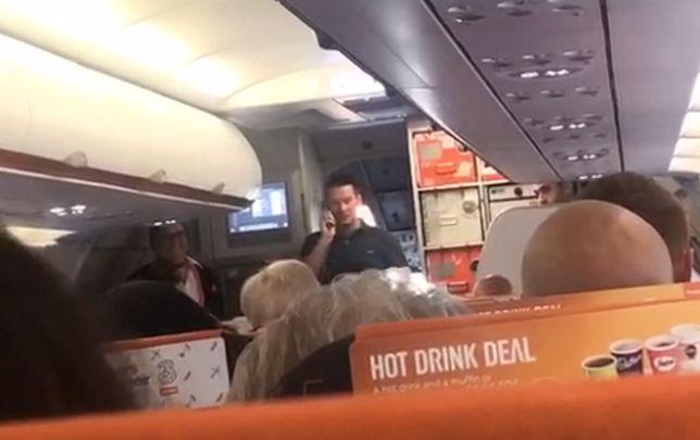 Mężczyzna przed startem poinformował pasażerów, że tego dna był na pokładzie prywatnie, ale postanowił uratować sytuację