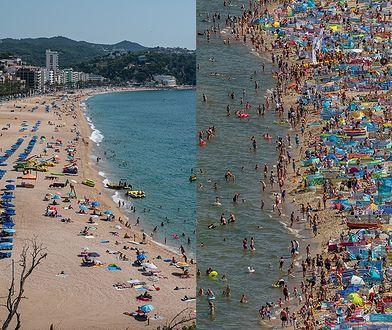 Plaże w Hiszpanii i w Polsce