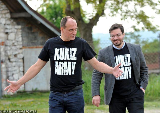 Paweł Kukiz i Stanisław Tyszka