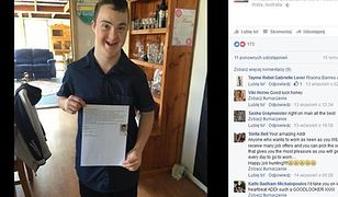 Chłopiec z zespołem Downa szuka pracy. Jego CV podbija internet