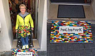 Produkuje podjazdy dla wózków z klocków Lego