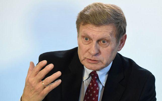Balcerowicz: PiS jawnie łamie konstytucję