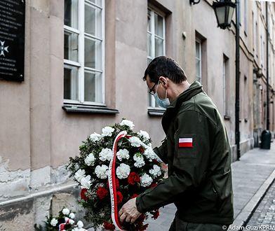 """Premier Mateusz Morawiecki uczcił skatowanego Grzegorza Przemyka: """"Historia ta jest mi szczególnie bliska"""""""