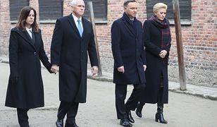 Mike Pence odwiedził muzeum w Auschwitz