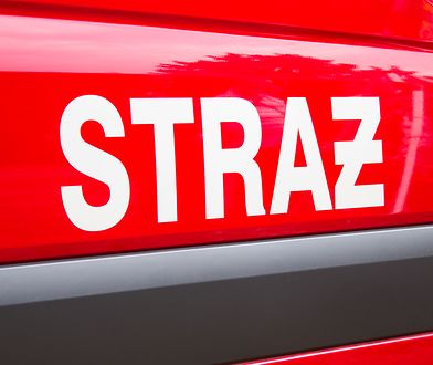 Na miejscu wycieku pracuje 9 zastępów straży pożarnej