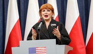 Georgette Mosbacher zabrała głos po sprzeczce z Beatą Mazurek (zdjęcie ilustracyjne)