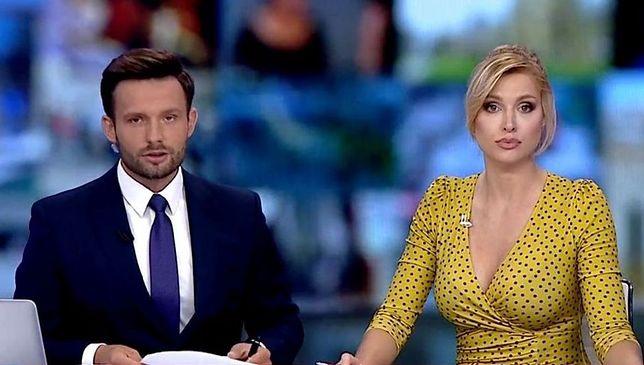 Karol Gnat i Karolina Pajączkowska występują razem na antenie TVP Info