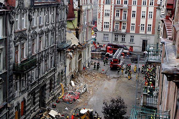 Wybuch gazu w Katowicach. Akcja została zakończona