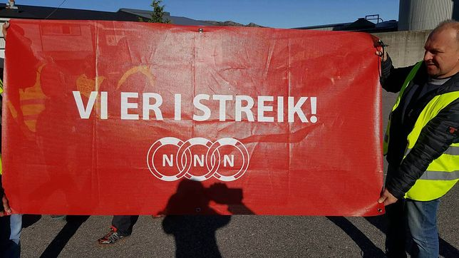 Norwegia nie jest rajem dla pracowników. Odwiedzamy Polaków, którzy zorganizowali jeden z najdłuższych strajków w tym kraju