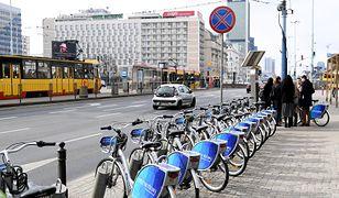 Rowery Veturilo dostępne od początku marca. Rekordowa liczba