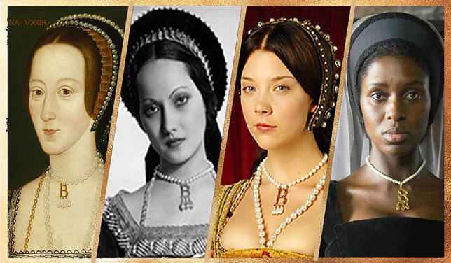 Cztery portrety Anny Boleyn.