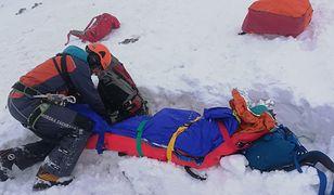 Lawina w słowackich Tatrach. Trzy osoby ranne, w akcji śmigłowiec