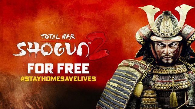 Total War Shogun 2 za darmo na Steamie