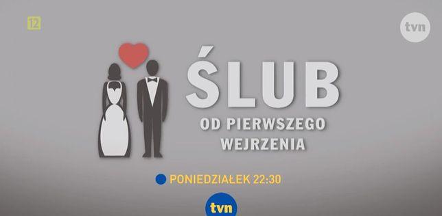 """Kadr ze zwiastuna programu """"Ślub od pierwszego wejrzenia"""""""