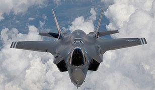 Kłopoty F-35. Zbyt niebezpieczny, byt latać