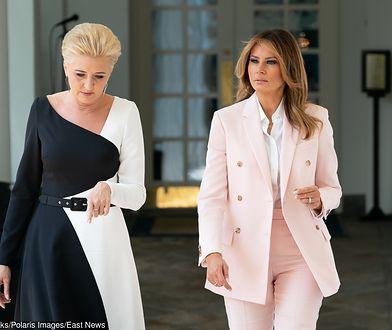 """""""Nie mogę się doczekać rozmowy z panią Dudą"""" - powiedziała Melania Trump w Białym Domu."""