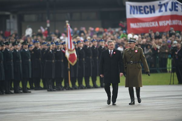 Obchody Święta Niepodległości z udziałem prezydenta Bronisława Komorowskiego
