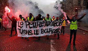 Na ulicach Paryża wciąż jest niespokojnie