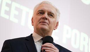 Jarosław Gowin docenił akcję opozycji z przekazaniem 2 mld na onkologię zamiast na TVP