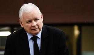 Sejm. Prezes PiS Jarosław Kaczyński