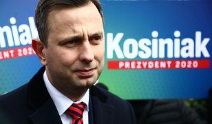 Wybory prezydenckie 2020. Prezes PSL Władysław Kosiniak-Kamysz podczas zbiórki podpisów