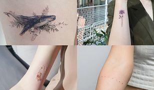Małe tatuaże są supermodne!