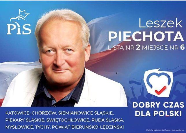"""Leszek Piechota """"znał"""" numer komitetu PiS jeszcze przed losowaniem"""